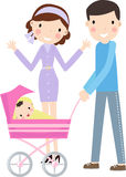 Parents with another one on the way. 