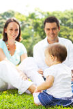 Parents and baby Royalty Free Stock Image