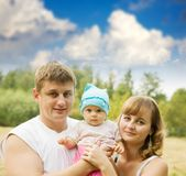 Parents with baby Stock Photos
