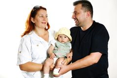Parents with baby Stock Images