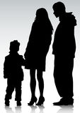 Parents and child Stock Image