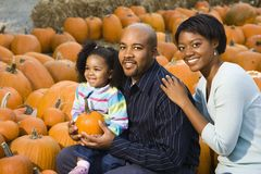 Parents and child. Stock Photography