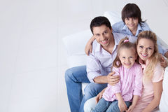 Parents with children Royalty Free Stock Photo