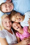 Parents with children Royalty Free Stock Photos