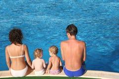 Parents and children stock photos