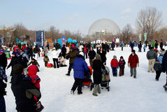 Winter festival  Stock Photography