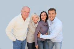 Parents and children portrait Stock Image