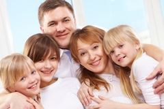 Parents and daughters Stock Photography