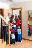 Parents de réunion de famille Photographie stock libre de droits