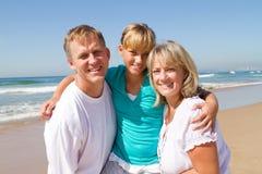 Parents et descendant de l'adolescence Photo stock
