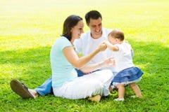 Parents et enfant Image libre de droits