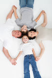 Parents et gosses Photo stock