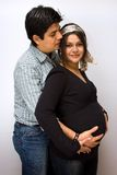 Parents expecting.... Stock Photo