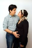 Parents expecting.... stock photography