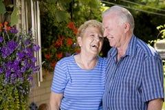 Parents grands photo libre de droits