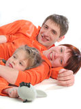 Parents heureux Photo stock