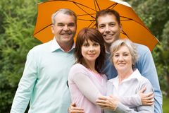 Parents and offsprings Royalty Free Stock Photos