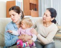 Parents problems Stock Photo