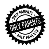 Only Parents rubber stamp Royalty Free Stock Image
