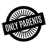 Only Parents rubber stamp Royalty Free Stock Images