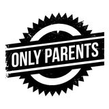 Only Parents rubber stamp Stock Image