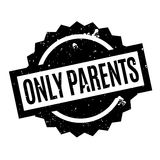 Only Parents rubber stamp Royalty Free Stock Photography