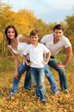 Parents and son Stock Photography