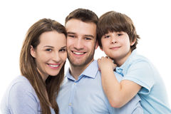 Parents and son Stock Image
