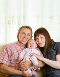 Parents with their child Stock Photos