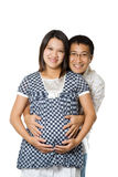 Parents to be stock photo