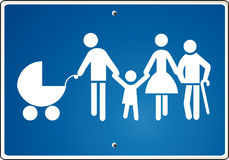 Parents togetherness. Group kids mother old parents togetherness Stock Image
