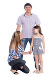 Parents with young daughter Royalty Free Stock Photography