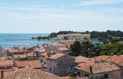 parenzo istra 3 Κροατία porec Στοκ Εικόνα