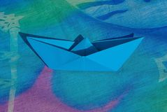 Pareo, Origami, Boat, Boat Paper Royalty Free Stock Images