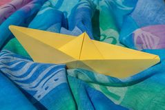 Pareo, Origami, Boat, Boat Paper Royalty Free Stock Photos
