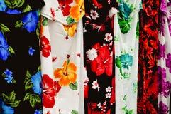 Pareo Sarong Fabric Stock Image
