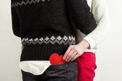 Pares à moda felizes no amor Fotos de Stock