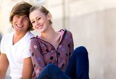 Pares adolescentes Imagens de Stock Royalty Free