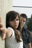 Pares adolescentes Fotos de Stock Royalty Free