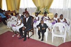 Pares africanos Imagem de Stock Royalty Free
