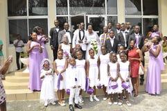 Pares africanos Foto de Stock Royalty Free