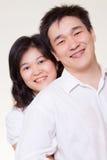 Pares asiáticos Fotografia de Stock Royalty Free