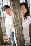 Pares asiáticos foto de archivo