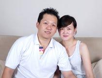 Pares asiáticos imagens de stock royalty free