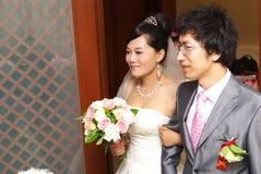 Pares asiáticos jovenes Imágenes de archivo libres de regalías