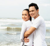 Pares asiáticos novos Foto de Stock Royalty Free