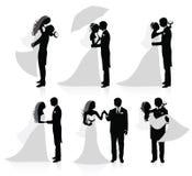 Pares casados. Foto de archivo