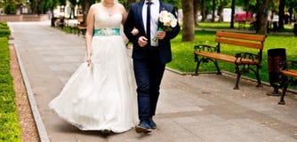 Pares casados Fotografía de archivo