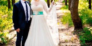 Pares casados Fotografía de archivo libre de regalías