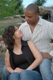 Pares casados felices 4 Imagen de archivo